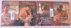 Lotto 4 libri romanzi rosa I Grandi Storici Seduction NUOVI Sinclair Scott