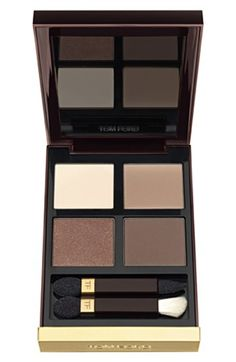 Tom Ford Eyeshadow Quad in Cocoa Mirage - one of my favorite makeup palettes. It is timeless...