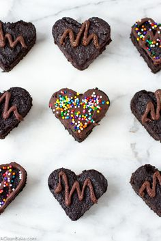 Grain-Free Heart Beet Brownies by A Clean Bake - Sweeter Life Club