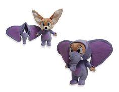 Disney Store : Zootropolis - Finnick in Elephant Suit plush
