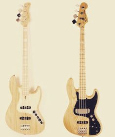 """""""Sire Marcus Miller Jazz Bass (by @sireguitars) or Fender Marcus Miller Jazz Bass (by @fenderguitar)?!?... Let me know which one you'd grab (and why)!!!...…"""""""