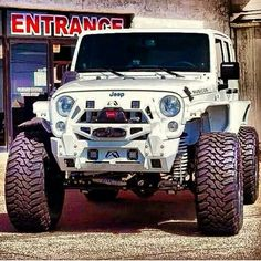 jeepbeef jeep wrangler white