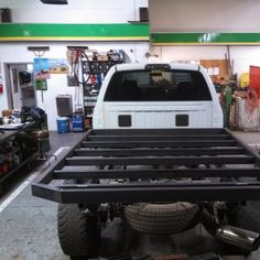 Photo: Uploaded from the Photobucket Android App. This Photo was uploaded by himarker Custom Truck Beds, Custom Trucks, Flatbeds For Pickups, Custom Ute Trays, Hunting Truck, Truck Flatbeds, Welding Rigs, Flat Bed, Cool Websites