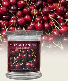 Black Cherry de Village Candle Review Revue Avis