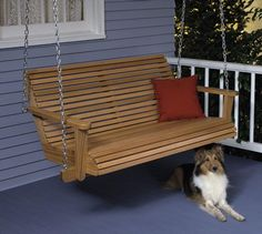 Porch Swing : Large-format Paper Woodworking Plan from WOOD Magazine