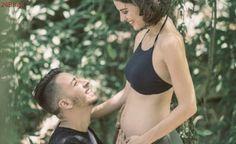 Junior Lima posta foto fofa e revela que sua esposa, Monica Benini, está grávida