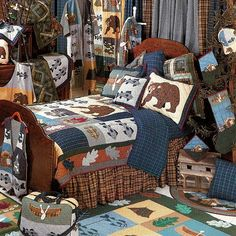 Cabin Bedding Collection