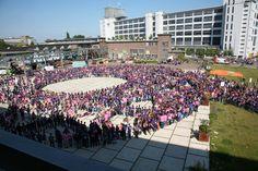 Stadsdag Eindhoven tijdens Purple Introductieweek 2014 #purple #fontys #denkgroter