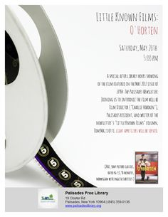 Little Known Films: O'Horten - Saturday, May 20, 5:00 pm