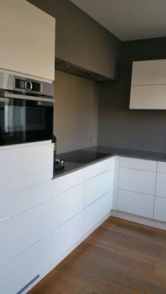 Man hoogglans, composiet werkblad Kitchen, Cooking, Kitchens, Cuisine, Cucina