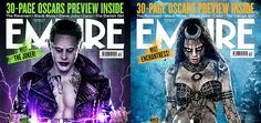 Empire magazine has unveiled two new covers of Suicide Squad stars Jared Leto and Cara Delevingne as Joker and Enchantress.