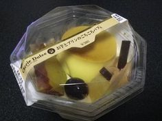 High quality autumn parfait from a convenience store