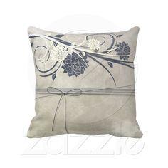 Blue Flowers Pillows