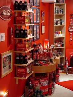 Inspired By The Real Thing - The Coca-Cola Room - Style Estate -