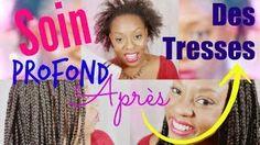 Chacha Afrolife - YouTube - Soin profond sur cheveux afros après les tresses - https://www.youtube.com/watch?v=HRLZzspkpHM
