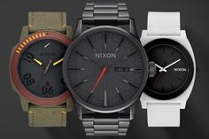 Nixon launches a new collection of watches and accessories inspired by Darth Vader and an Imperial Stormtrooper, as well as the always popular Boba Fett.