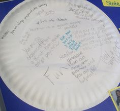 "End of Year Turtle Compliments - Have students each tape a ""shell"" on their back. Then they walk around and write down a compliment to each of their classmates. This is a silent activity because turtles don't talk. Finally, they can take them off and read them."