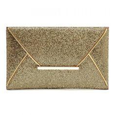 22f8c10535  RoseWholesale -  Rosewholesale Metallic Design Evening Bag For Women -  AdoreWe.com