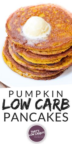 27 Keto Pumpkin Recipes for the Holiday Season Pumpkin spice and everything nice! Enjoy the holiday treats while on a keto diet with these low carb pumpkin recipes, both savory and sweet. Healthy Low Carb Recipes, Ketogenic Recipes, Real Food Recipes, Keto Recipes, Chicken Recipes, Protein Recipes, Keto Chicken, Rice Recipes, Paleo Pumpkin Pancakes