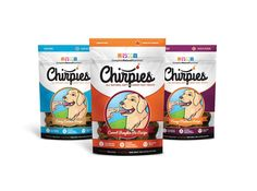 Do you love your dog?? Well, give them Chirpies, and they'll love YOU even more! Made with all natural ingredients, and infused with #CricketPowder these supersnacks will power up your pooch like you've never seen!