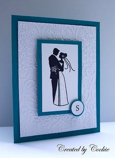 Cards by Cookie with Inkadinkado Wedding Stamps