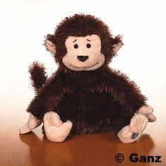 Webkinz Monkey (Lil'Kinz)