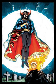 Doctor Strange & Ghost Rider