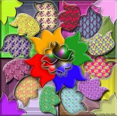 Tulip Garden By Kathy Potts (324 pieces)