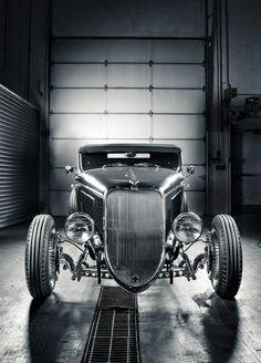 Ford T Hot Road - Motor City by Michael Simari