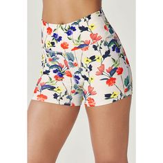 Fabletics Shorts Lisette High-Waisted ($30) ❤ liked on Polyvore featuring activewear, activewear shorts and fabletics