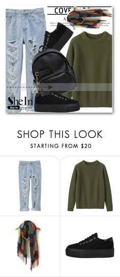 """""""Sheinside contest !!"""" by dianagrigoryan ❤ liked on Polyvore featuring Toast, Dsquared2, women's clothing, women's fashion, women, female, woman, misses and juniors"""