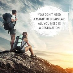#travelquote #tourlife you dont need a magic to...  Instagram travelquote