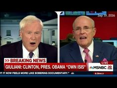 Rudy Giuliani vs Chris Matthews on Radical Islamist Terror - YouTube