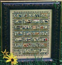alphabet cross stitch - cool