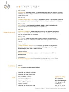 Resume Templates For Mac   http   www jobresume website resume Pinterest
