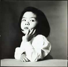 Irving Penn: 'Japanese Girl', 1980.