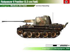 Flakpanzer V mit 5.5cm Flakzwilling