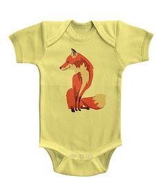Love this Banana Fox Bodysuit - Infant on #zulily! #zulilyfinds