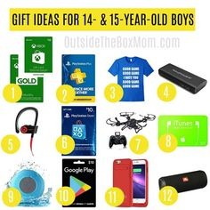 Gifts For 14 Year Old Boys 16th Birthday Great Box