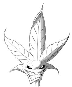 weed leaf coloring pages - Saferbrowser Yahoo Image Search Results Card Tattoo Designs, Tattoo Design Drawings, Art Drawings Sketches, Leaf Coloring Page, Mermaid Coloring Pages, Graffiti Drawing, Graffiti Art, Weed Tattoo, Tattoos