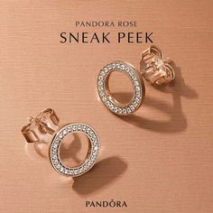 pandora girl earrings