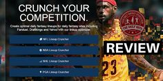 Should You Use Fantasy Cruncher - Daily Fantasy Sports Lineup Tool