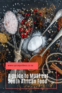 A guide to MUST EAT South African food
