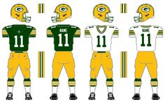 Green Bay Packers. This is the 4th of many uploads for this Nike/NFL tweaking…