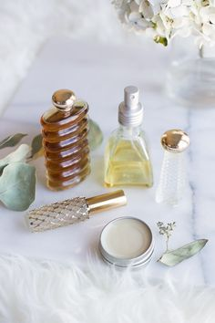 Perfume is a great gift to give this Christmas - especially homemade! Here are 4 ways to DIY your own scents.