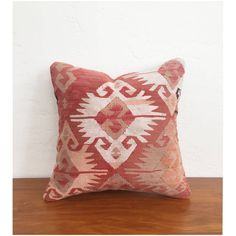Vintage Kilim Square Pillow 16x16 ($58) ❤ liked on Polyvore featuring home, home decor, throw pillows, multi colored throw pillows, taupe throw pillows, vintage home decor, colorful home decor and kilim throw pillows