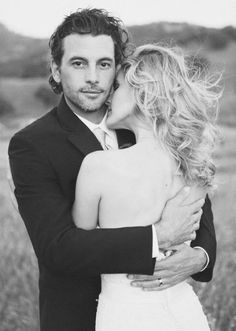Skeet Ulrich + Amelia Jackson-Gray Farmhouse Wedding