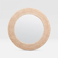 Amani Round Mirror design by Made Goods