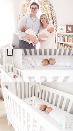 This is kind of fun in the cribs! I'm not sure our babies are little enough to pull stuff off like this though; they're definitely out of that super sleepy newborn phase, but they do like being swaddled.