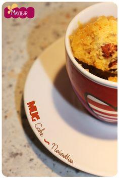 mug cake noisette